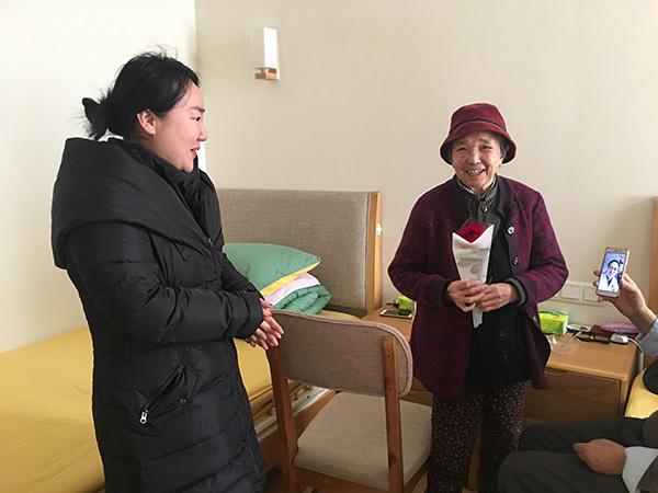 """中建三局二公司预祝""""一暄康养""""的奶奶们三八节快乐 (5)"""