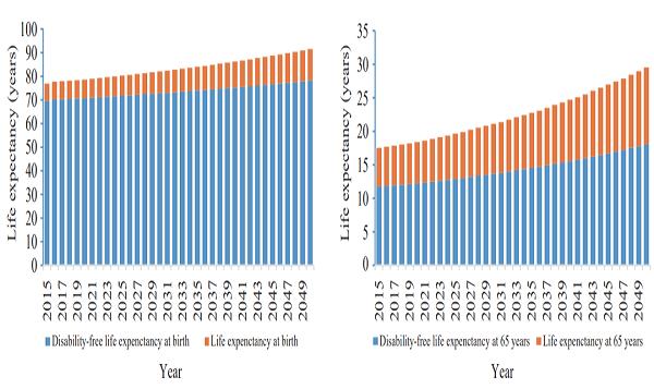 据北京大学一项人口学研究显示,到2030年,我国失能老人规模将超过7700万,失能老人将经历7.44年的失能期