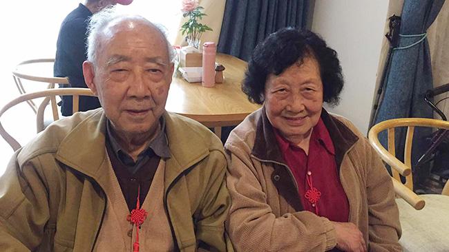 罗奶奶和王爷爷