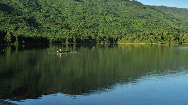 木棉湖实景