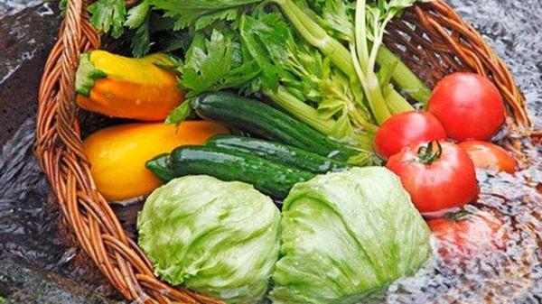成都养老院经验分享:如何去除蔬菜上的农药-水浸泡蔬菜水果