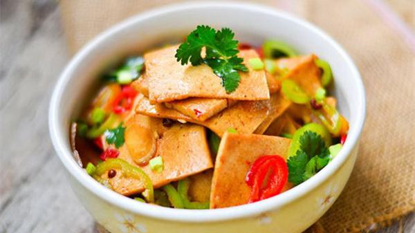 成都养老院解析在家做千叶豆腐的步骤图2