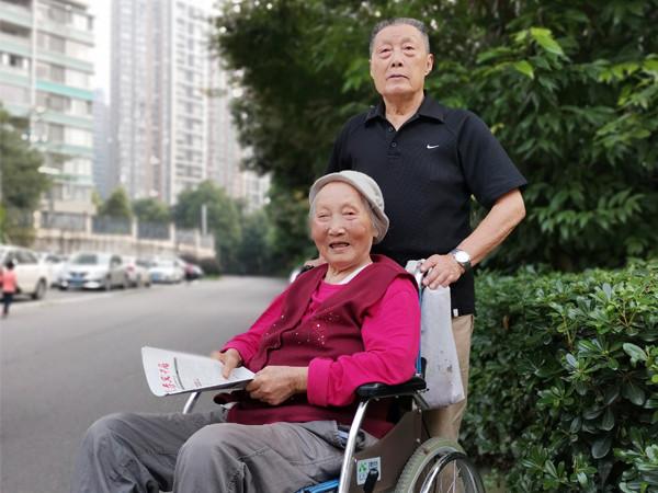 采访一暄康养李绍先爷爷和黄宝珍奶奶