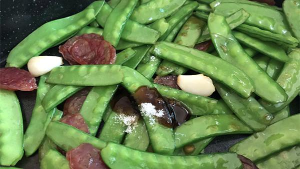 成都金牛区养老院美味分享荷兰豆3