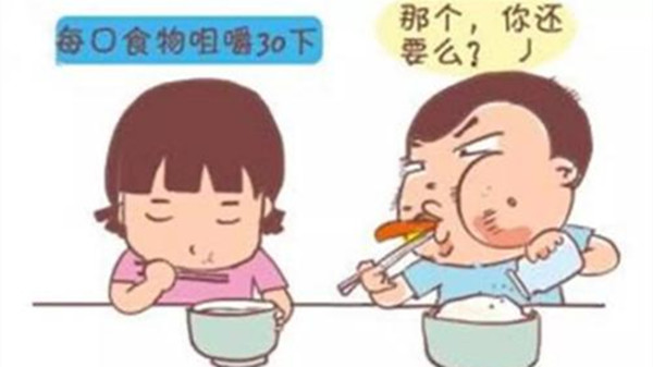 成都养老院经验分享-长寿秘诀:细嚼慢咽-正确错误示范