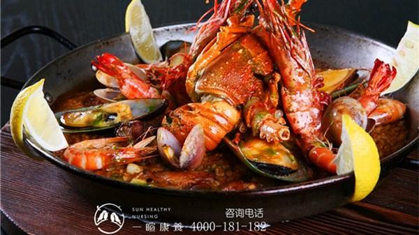 成都养老院|一暄康养养生堂:海鲜营养价值高,中老年人这样吃(五) (1)