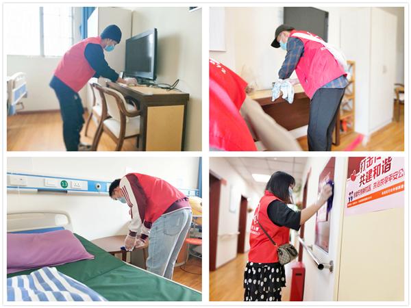 天元一善志愿者为成都养老院的爷爷奶奶打扫卫生2
