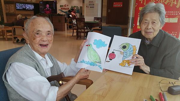 成都金牛养老院揭秘涂色对老人有哪些好处5