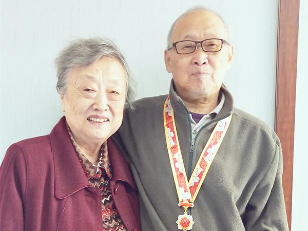 【南门院】冯爷爷获得中华人民共和国成立70周年纪念章