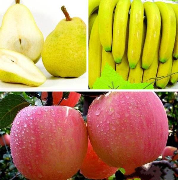 梨,苹果,香蕉