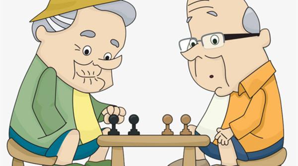 成都青羊区养老院-一暄康养分享老人脑萎缩如何治疗-下棋1-封面