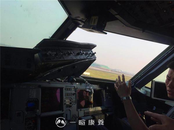 川航空客A319客机飞行员