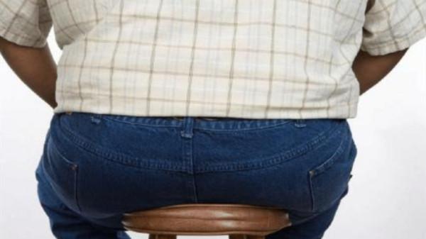 久坐不动的危险之一——肥胖