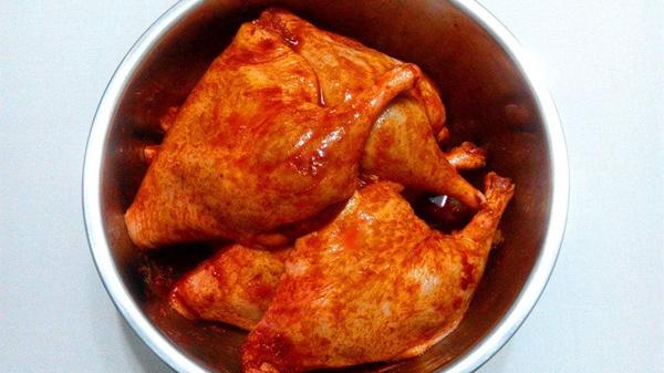 美味鸭肉的10种做法,成都养老院教您制作(四)-奥尔良烤鸭1
