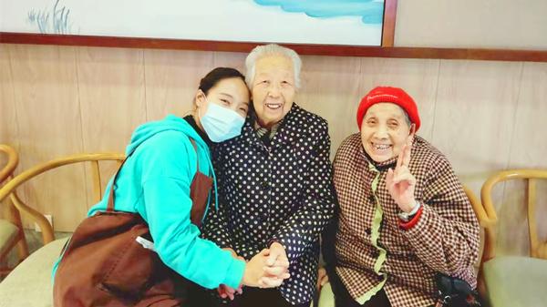 在一暄康养快乐的爷爷奶奶