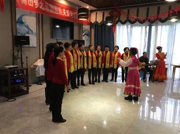 南山梦之乐舞蹈队关爱老人送温暖活动在成都养老院一暄康养举行 (3)