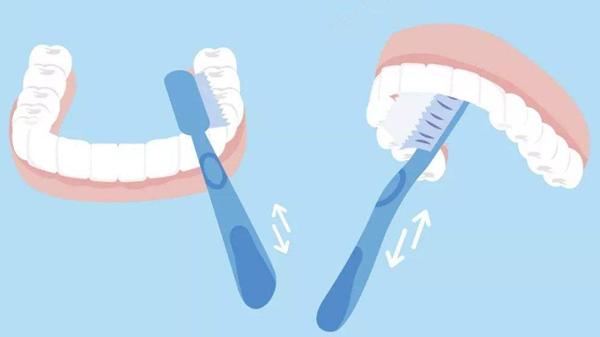成都养老院一暄康养告诉长者想防肠梗阻必先护牙-正确刷牙方式2