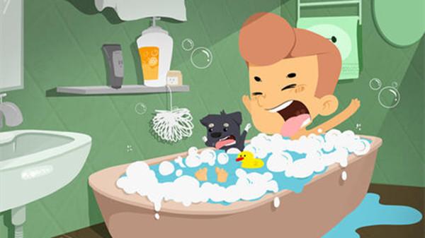 成都养老院一暄康养提醒冬天洗澡要注意这几点,不然等于折寿!(一)-洗澡1