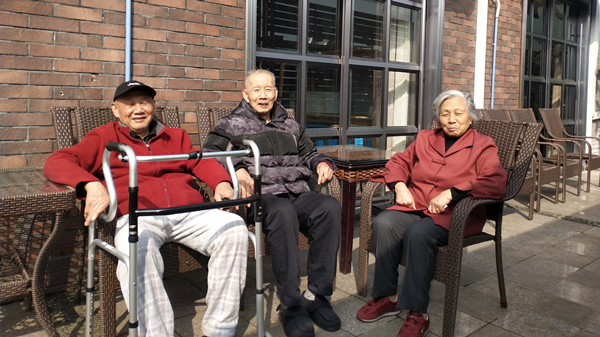 成都金牛区养老院一暄康养推荐适合老年人的运动-晒太阳