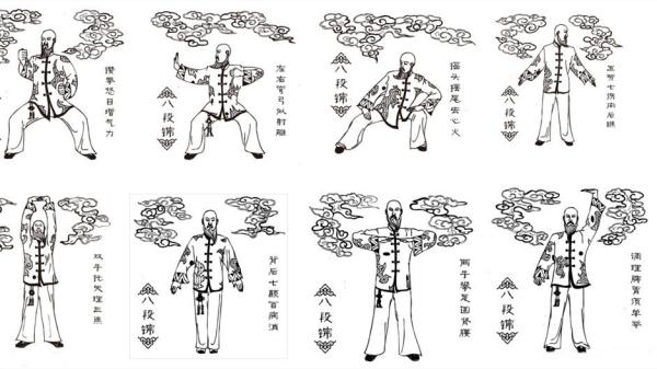 每天练习八段锦,经络疏通不是梦(上)
