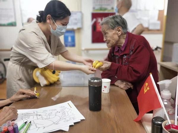 奶奶收到香蕉