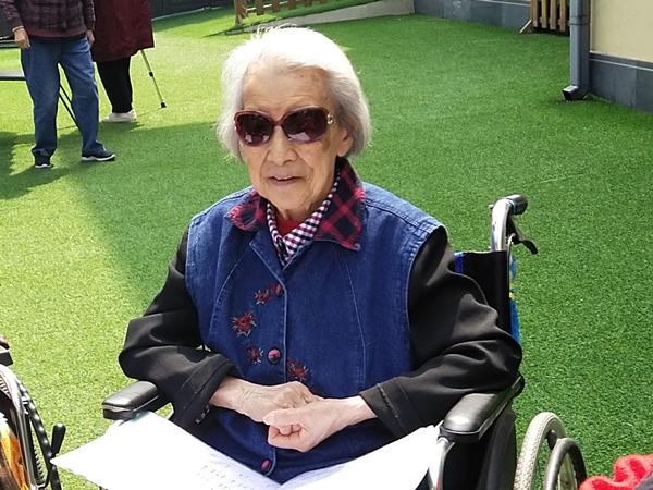 成都养老院一暄康养百岁奶奶