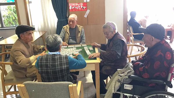 老人打麻将的好处1