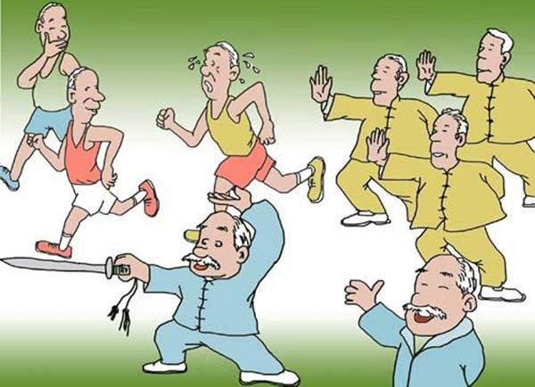 成都青羊区养老院-一暄康养介绍老年人喝牛奶的好处-锻炼身体3