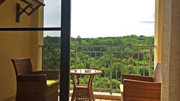 海南木棉湖阳台实景