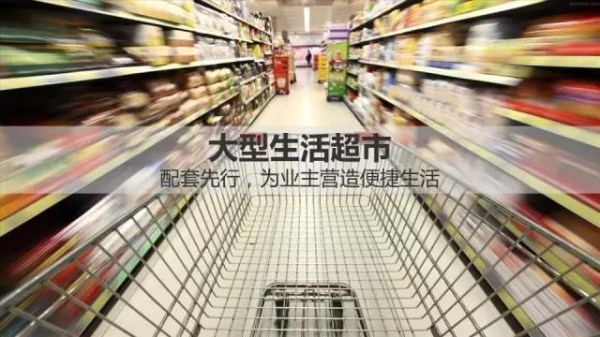 海南木棉湖专属配套-大型生活超市-1
