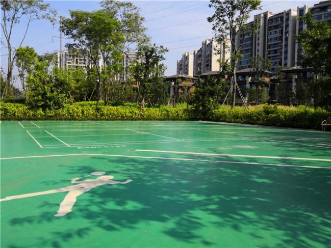 【两河公园店】周边环境-1摸底河公园网球场