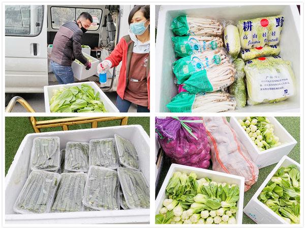 菜小哥农业科技有限公司捐赠蔬菜